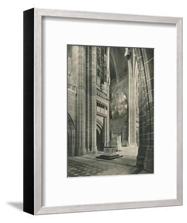 Liverpool Cathedral: General View from Memorial Transept. Architect, Sir G. Gilbert Scott, 1924-Unknown-Framed Giclee Print