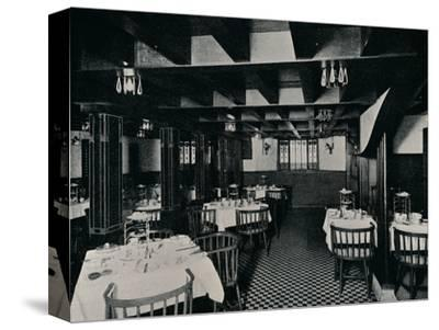 The Old Kitchen at Miss Cranston's Tea House, Argyle Street, Glasgow, c1906-Unknown-Stretched Canvas Print