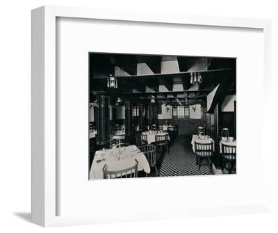 The Old Kitchen at Miss Cranston's Tea House, Argyle Street, Glasgow, c1906-Unknown-Framed Photographic Print
