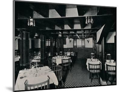 The Old Kitchen at Miss Cranston's Tea House, Argyle Street, Glasgow, c1906-Unknown-Mounted Photographic Print