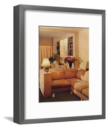 Living Room by Michael Dawn, 1936-Unknown-Framed Photographic Print