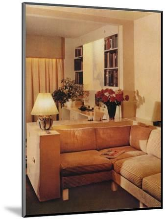 Living Room by Michael Dawn, 1936-Unknown-Mounted Photographic Print