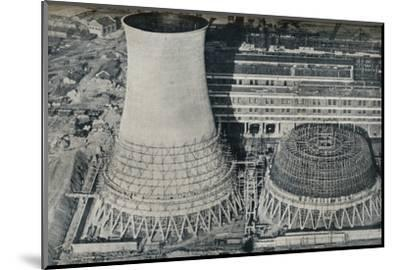 Electrical Power Station at Water Orton, Hams Hall, near Birmingham, 1928-Unknown-Mounted Photographic Print