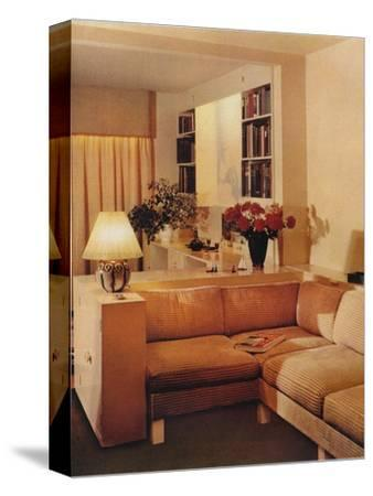 Living Room by Michael Dawn, 1936-Unknown-Stretched Canvas Print