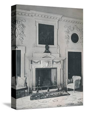 Mantelpiece in the State Drawing-Room, 1916-Unknown-Stretched Canvas Print