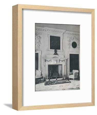 Mantelpiece in the State Drawing-Room, 1916-Unknown-Framed Photographic Print