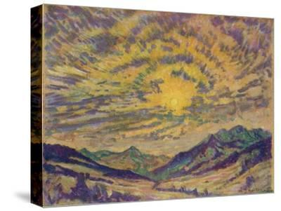 The Winter Sun, c1885-1925, (1925)-Unknown-Stretched Canvas Print