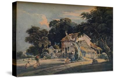 A Devonshire Farm, c1798, (1921)-Unknown-Stretched Canvas Print