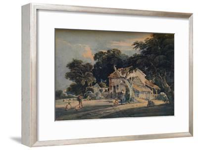 A Devonshire Farm, c1798, (1921)-Unknown-Framed Giclee Print