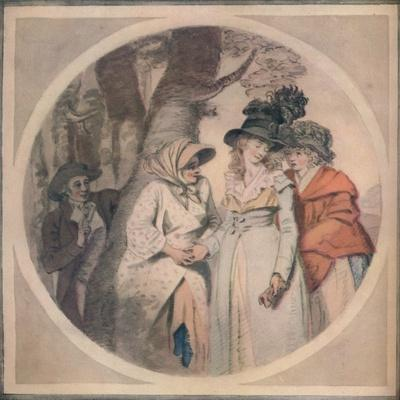 The Fortune Teller, 1911-Unknown-Framed Giclee Print