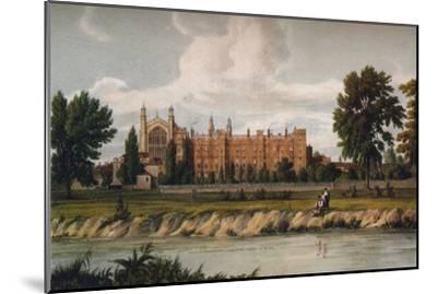 Eton College from the River, 1911, (1914)-Unknown-Mounted Giclee Print