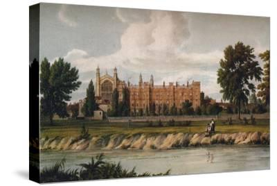 Eton College from the River, 1911, (1914)-Unknown-Stretched Canvas Print