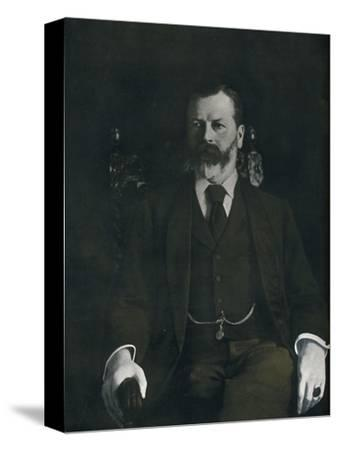 Mr. Arthur Sanderson At Home, 1901-Unknown-Stretched Canvas Print