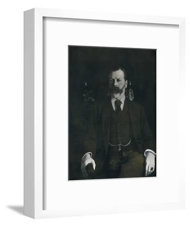 Mr. Arthur Sanderson At Home, 1901-Unknown-Framed Photographic Print