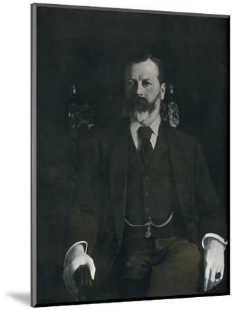 Mr. Arthur Sanderson At Home, 1901-Unknown-Mounted Photographic Print