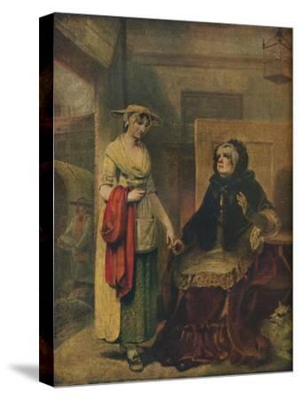 The Daughter's Departure, 18th century, (1921)-Unknown-Stretched Canvas Print