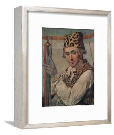 Dr John Jeffries, American balloonist, 1786. (1911)-Unknown-Framed Giclee Print