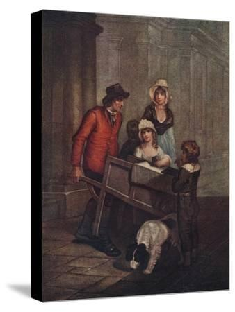 Cries of London Plate 12: Hot Spice Gingerbread, smoaking hot!, 1796, (1911)-Unknown-Stretched Canvas Print