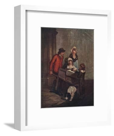 Cries of London Plate 12: Hot Spice Gingerbread, smoaking hot!, 1796, (1911)-Unknown-Framed Giclee Print