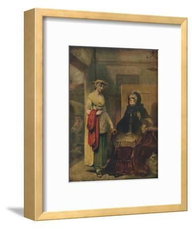 The Daughter's Departure, 18th century, (1921)-Unknown-Framed Giclee Print