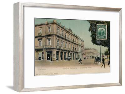 Habana. Hotel de Inglaterra. -Inglaterra Hotel, Cuba, c1910s-Unknown-Framed Giclee Print