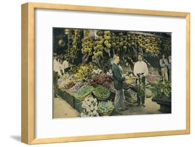 Cuban Fruit Store, c1910-Unknown-Framed Giclee Print