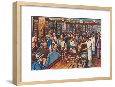 Sloppy Joe's Bar, Havana, Cuba, 1951-Unknown-Framed Giclee Print