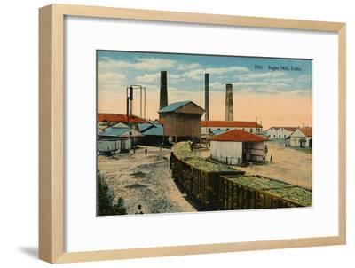 Sugar Mill, Cuba, c1910-Unknown-Framed Giclee Print