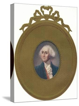 George Washington (1732-99), first President of the United States, (1907)-Unknown-Stretched Canvas Print