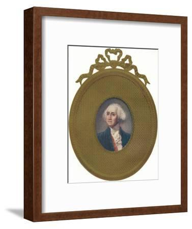 George Washington (1732-99), first President of the United States, (1907)-Unknown-Framed Giclee Print