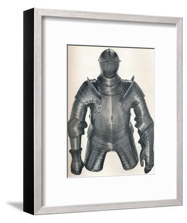 Armour of King Henry VIII (1491-1547), 1917-Unknown-Framed Photographic Print