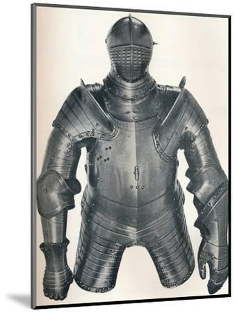 Armour of King Henry VIII (1491-1547), 1917-Unknown-Mounted Photographic Print
