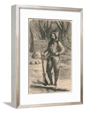 The Baron De Wogan, 1870-Unknown-Framed Giclee Print