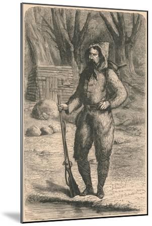 The Baron De Wogan, 1870-Unknown-Mounted Giclee Print