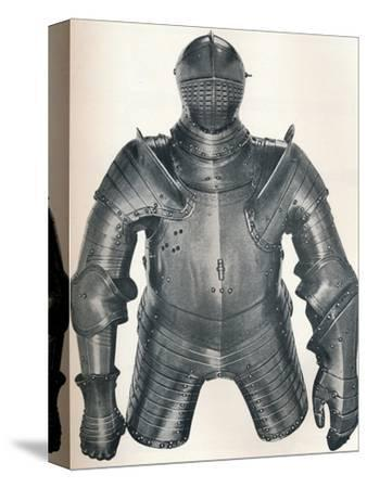 Armour of King Henry VIII (1491-1547), 1917-Unknown-Stretched Canvas Print