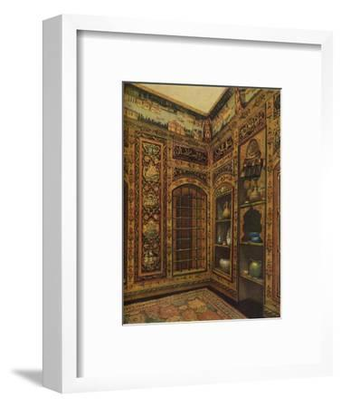 16th-17th Century Old Panelled Room from Damascus, 1913-Unknown-Framed Giclee Print