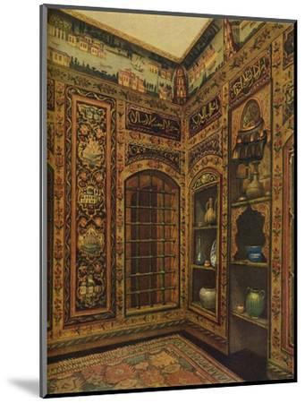 16th-17th Century Old Panelled Room from Damascus, 1913-Unknown-Mounted Giclee Print