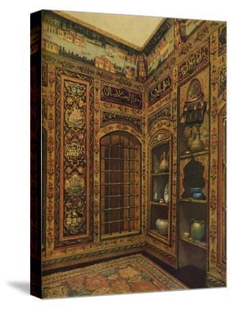 16th-17th Century Old Panelled Room from Damascus, 1913-Unknown-Stretched Canvas Print