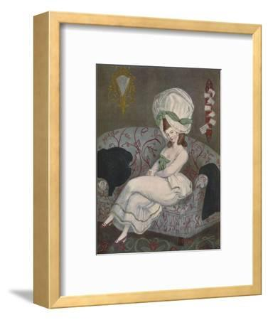 A Man-Trap, 1780, (1903)-Unknown-Framed Giclee Print