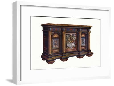 French Cabinet of Architectural Design, c1792, (1905)-Unknown-Framed Giclee Print