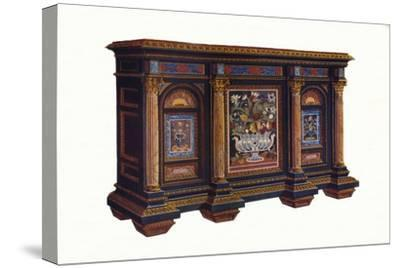 French Cabinet of Architectural Design, c1792, (1905)-Unknown-Stretched Canvas Print