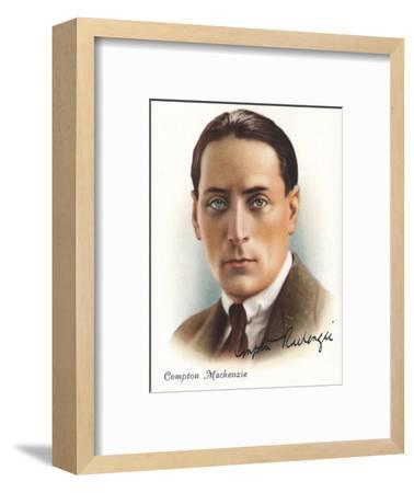 Compton Mackenzie, 1937-Unknown-Framed Giclee Print