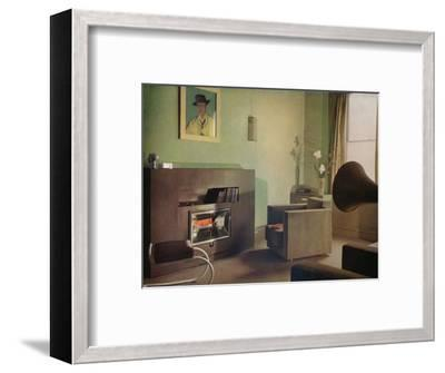 Mrs Betty Fraser's flat at 28a, Upper Gloucester Place, London, 1932-Unknown-Framed Photographic Print