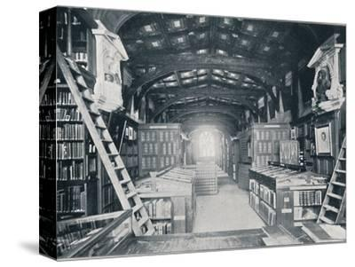 Duke Humphrey's Library, c1902-Unknown-Stretched Canvas Print