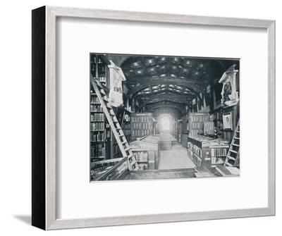 Duke Humphrey's Library, c1902-Unknown-Framed Photographic Print