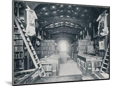 Duke Humphrey's Library, c1902-Unknown-Mounted Photographic Print