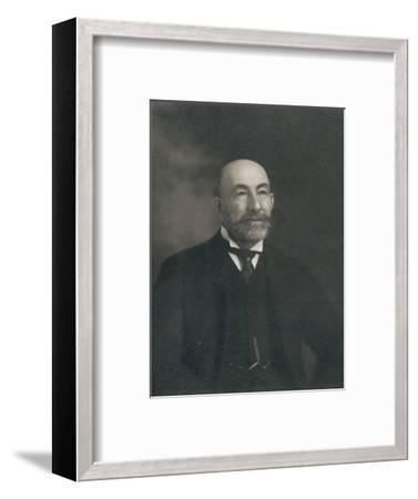 Portrait of Lord Cheylesmore, 1902-Unknown-Framed Photographic Print
