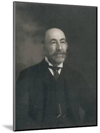Portrait of Lord Cheylesmore, 1902-Unknown-Mounted Photographic Print
