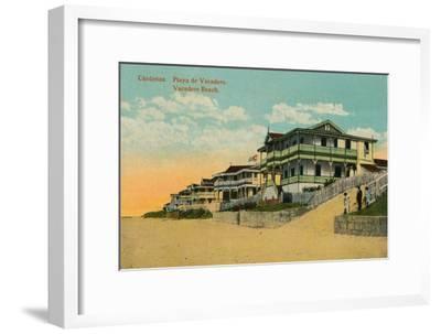 Varadero Beach, Cardenas, Matanzas, Cuba, c1924-Unknown-Framed Giclee Print