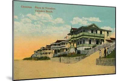 Varadero Beach, Cardenas, Matanzas, Cuba, c1924-Unknown-Mounted Giclee Print